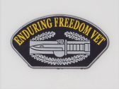 UNITED STATES ARMY ENDURING FREEDOM VETERAN 3D EFFECT FRIDGE MAGNET